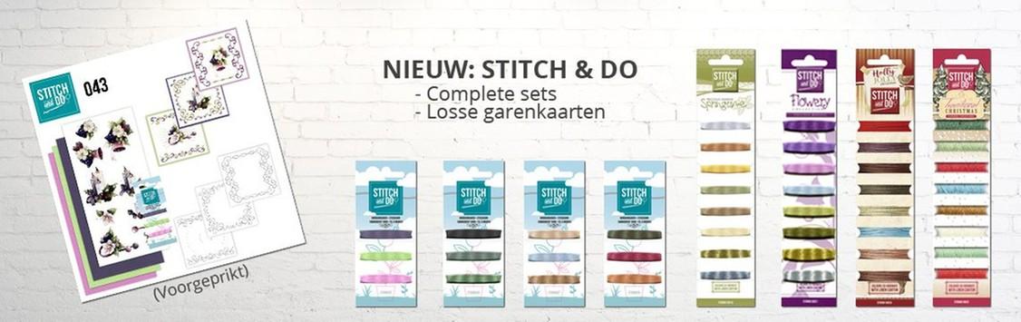 Nieuw! Borduren met Stitch & Do