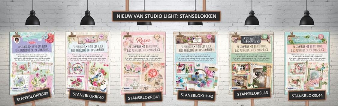 6 nieuwe stansblokken van Studio Light