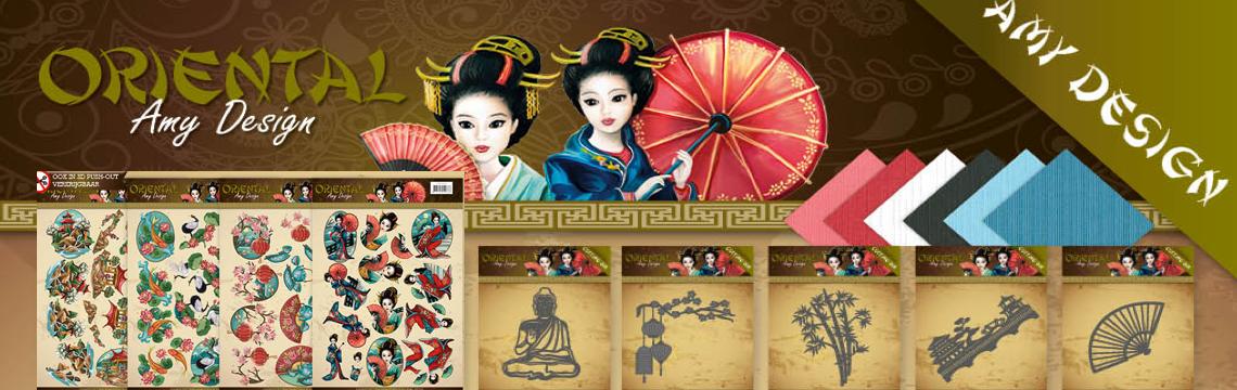 Nieuw: Amy Design - Oriental