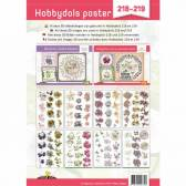 Hobbydols 218 en 219 - Knipvellenposter