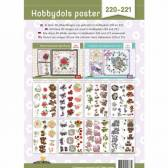 Hobbydols 220 en 221 - Knipvellenposter