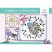 Hobbydols 221 - Hobbydotten met vlinders