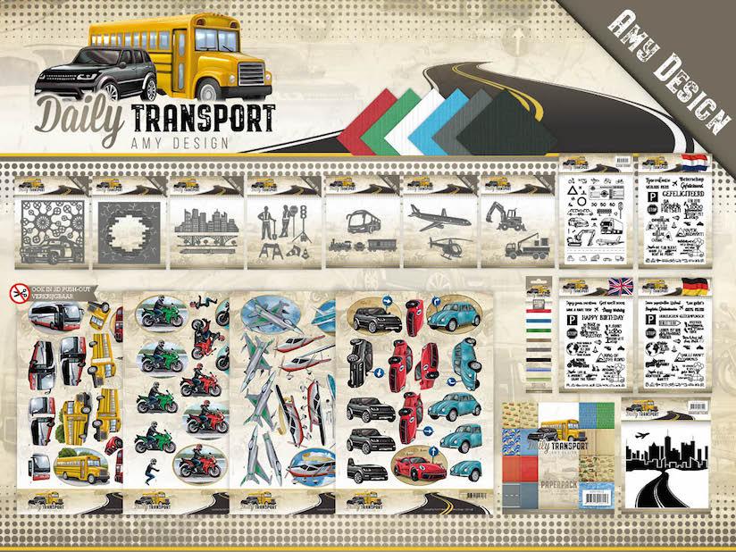 Dit product maat deel uit van de Amy Design - Daily Transport collectie