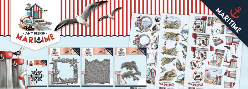 Dit product maat deel uit van de Amy Design Maritime Collection
