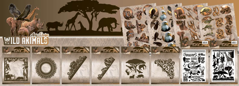 Dit product maat deel uit van de Amy Design Wild Animals Collection