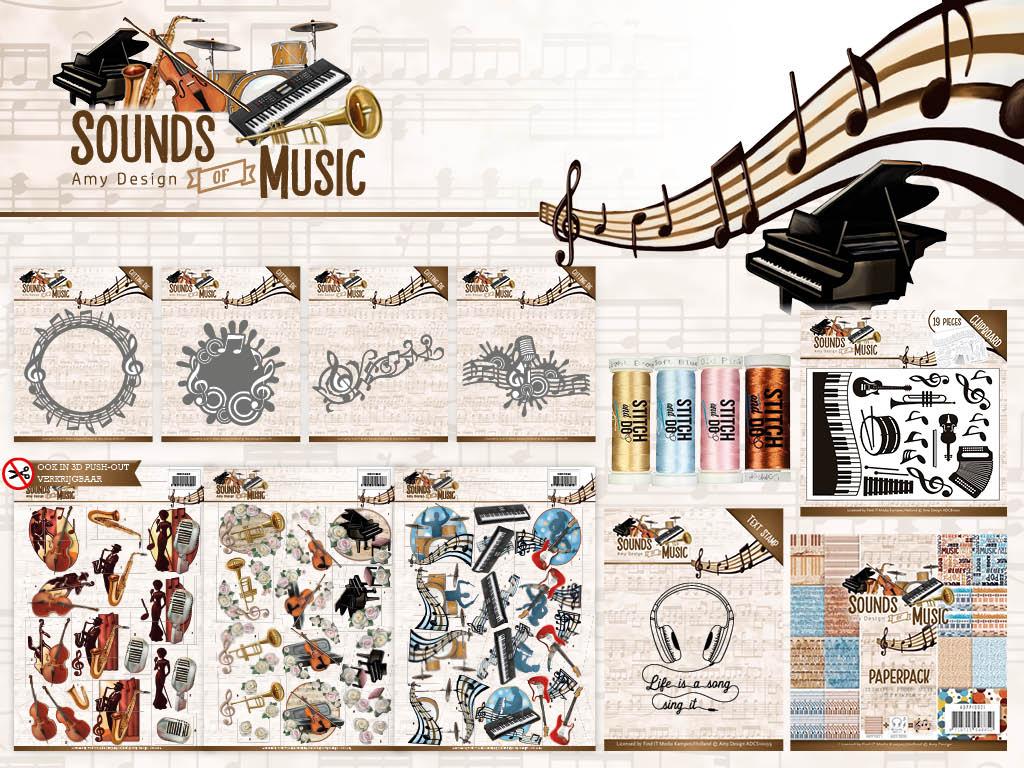 Dit product maat deel uit van de Amy Design - Sound of Music collectie