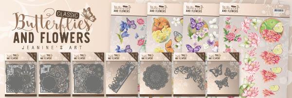 Dit product maat deel uit van de Jeanine's Art Classic Butterflies and Flowers collectie