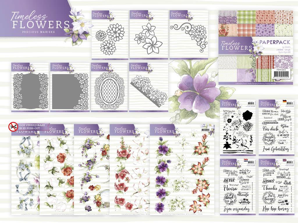 Dit product maat deel uit van de Precious Marieke - Timeless Flowers collectie