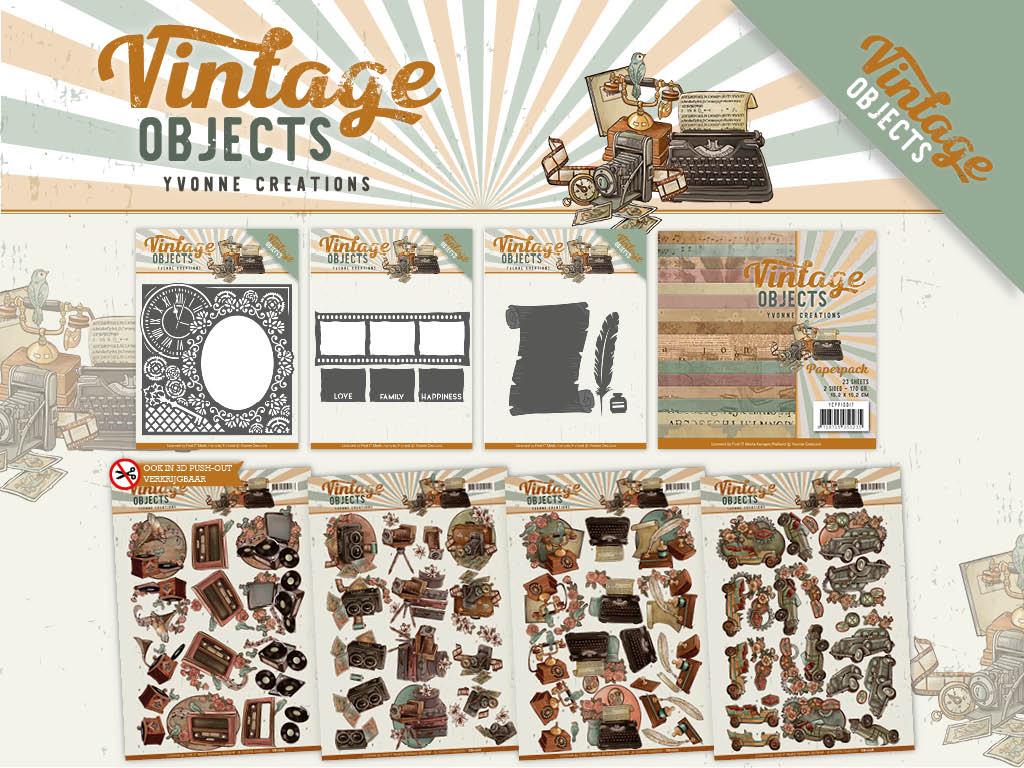 Dit product maat deel uit van de Yvonne Creations - Vintage Objects collectie