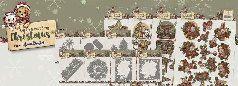 Dit product maat deel uit van de Yvonne Creations Celebrating Christmas collectie